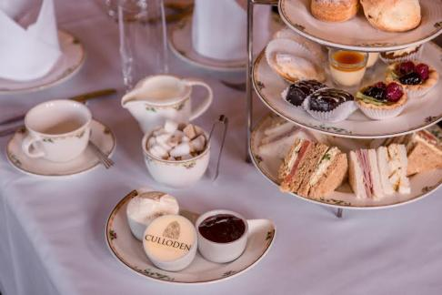 Afternoon Tea at the Culloden Estate and Spa