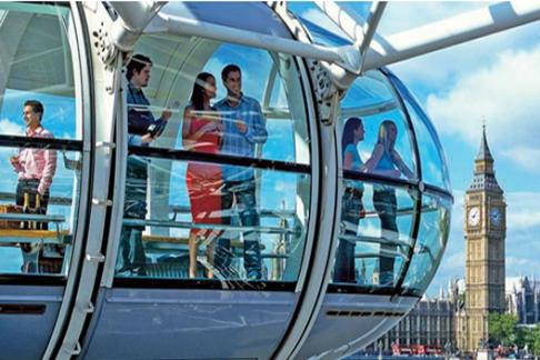 London Eye Standard Experience + The London Pass® – Entry to 60+ Attractions