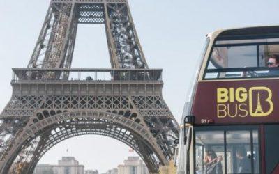 Big Bus Paris – 1 Day Tour + Grevin Museum