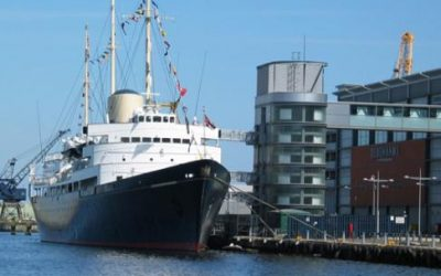 Royal Yacht Britannia & Edinburgh Castle