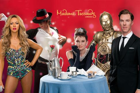 Madame Tussauds + Thames River Rover Pass