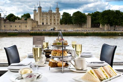 Bateaux London – Afternoon Tea Cruise