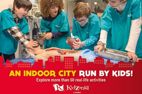 KidZania London – Peak Saver (after 1pm)