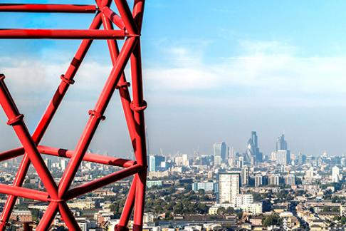 St Pauls Cathedral + ArcelorMittal Orbit