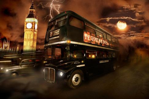 London Ghost Bus Tour + London Eye
