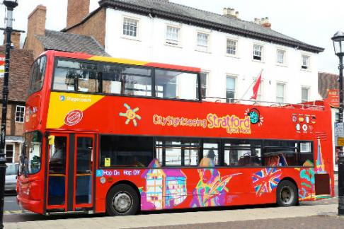 City Sightseeing Stratford-upon- Avon Hop-on Hop-off