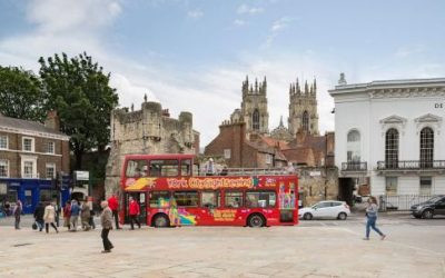 York City Cruise (Daytime) + City Sightseeing York Hop-on Hop-off
