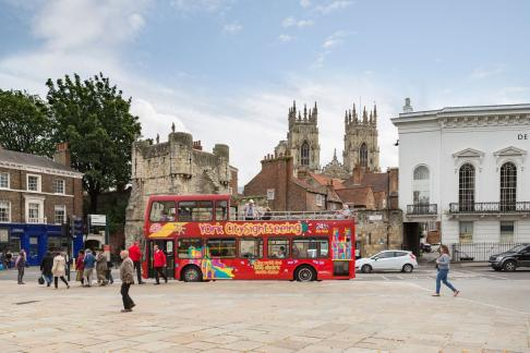 York City Cruise (Early Evening) + City Sightseeing York Hop-on Hop-off