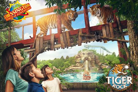Chessington WOA Resort – 1 Day Ticket – EBO + Market Square Pizza Pasta Meal Deal