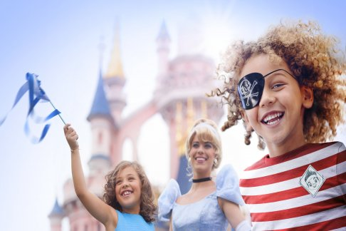 Disneyland® Paris – 4 Day Hopper Pass – Simba