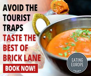 Brick Lane - Flavours of India and Beyond - Eating London Food Tours - https://www.eatinglondontours.co.uk/brick-lane-food-tour/
