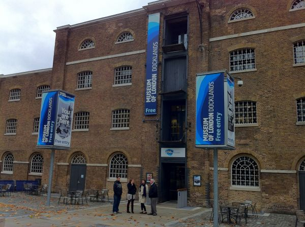 Museum of London Docklands – Splash of history