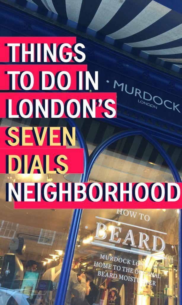 A Hidden Neighborhood in London's City Center - Seven Dials - Travels of Adam - https://travelsofadam.com/2017/05/london-seven-dials/