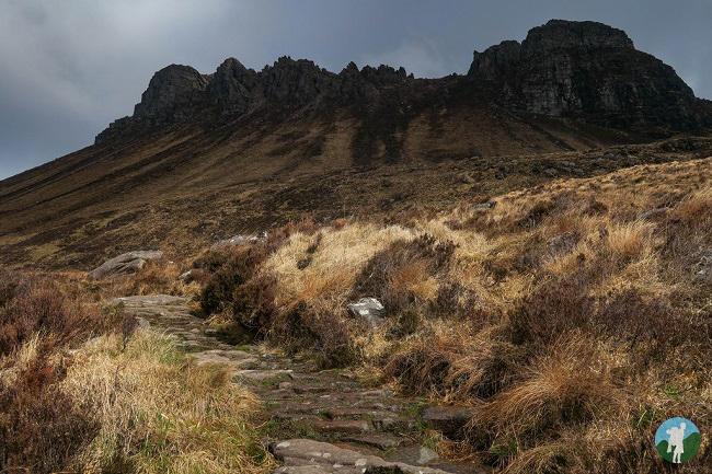 stac pollaidh lochinver walks sutherland