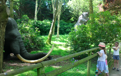 Howlett's Wild Animal Park near Canterbury | Animals of the Ice Age Exhibition