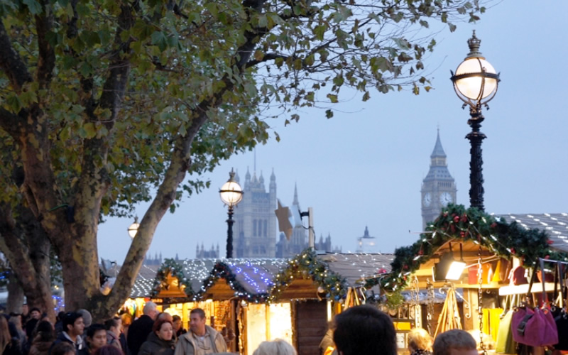 Christmas markets, London-style