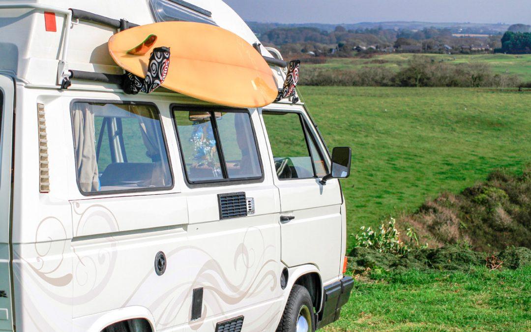 Romantic Rover Tiki-Van Summer Weekender Break on The Gower Coast
