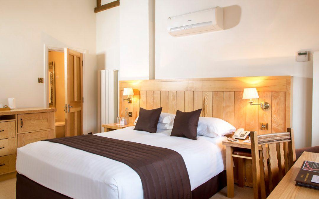 One Night Premier Break for Two at Tewin Bury Farm Hotel