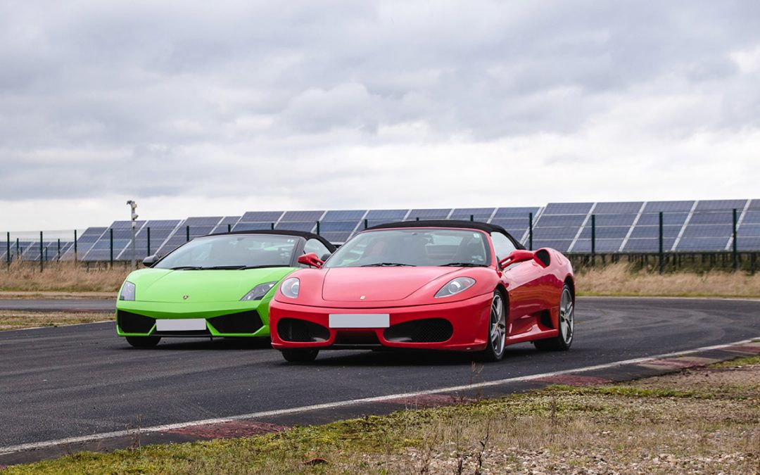 Double Supercar Thrill plus High Speed Passenger Ride and Photo – Weekday