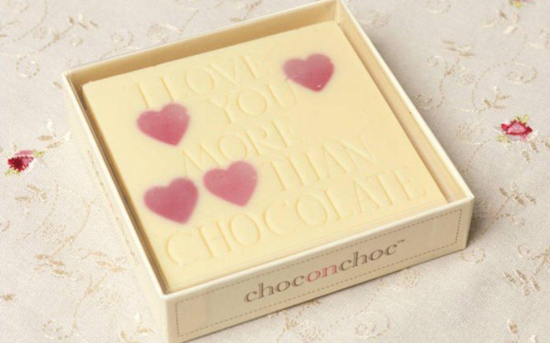 I love You More Than Chocolate…