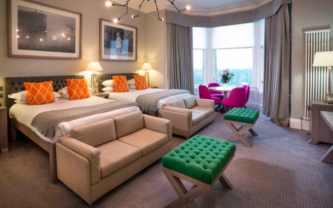 One Night Boutique Break with Dinner for Two at The Bonham Hotel, Edinburgh