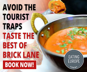 Brick Lane - Flavours of India and Beyond - Eating London Food Tours - https://www.eatingeurope.com/brick-lane-food-tour/