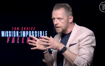 Did Simon Pegg from 'Mission: Impossible – Fallout' just admit he's a real spy?