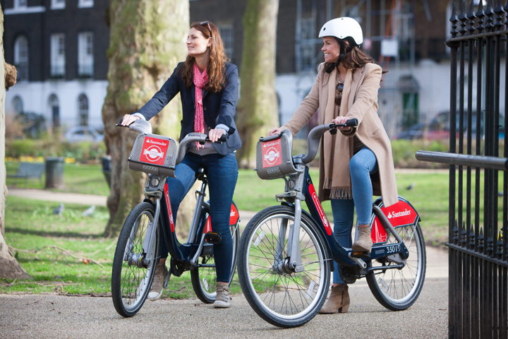 Santander Cycles just had the busiest month since it began eight years ago