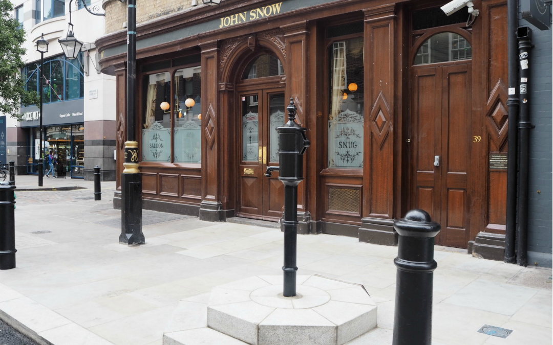 The historic John Snow water pump is back in Soho