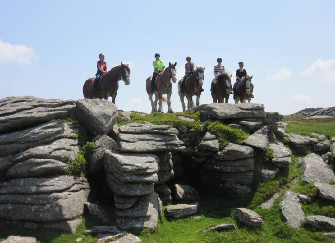 Horse-Riding-UK-Dartmoor-National-Park-Devon