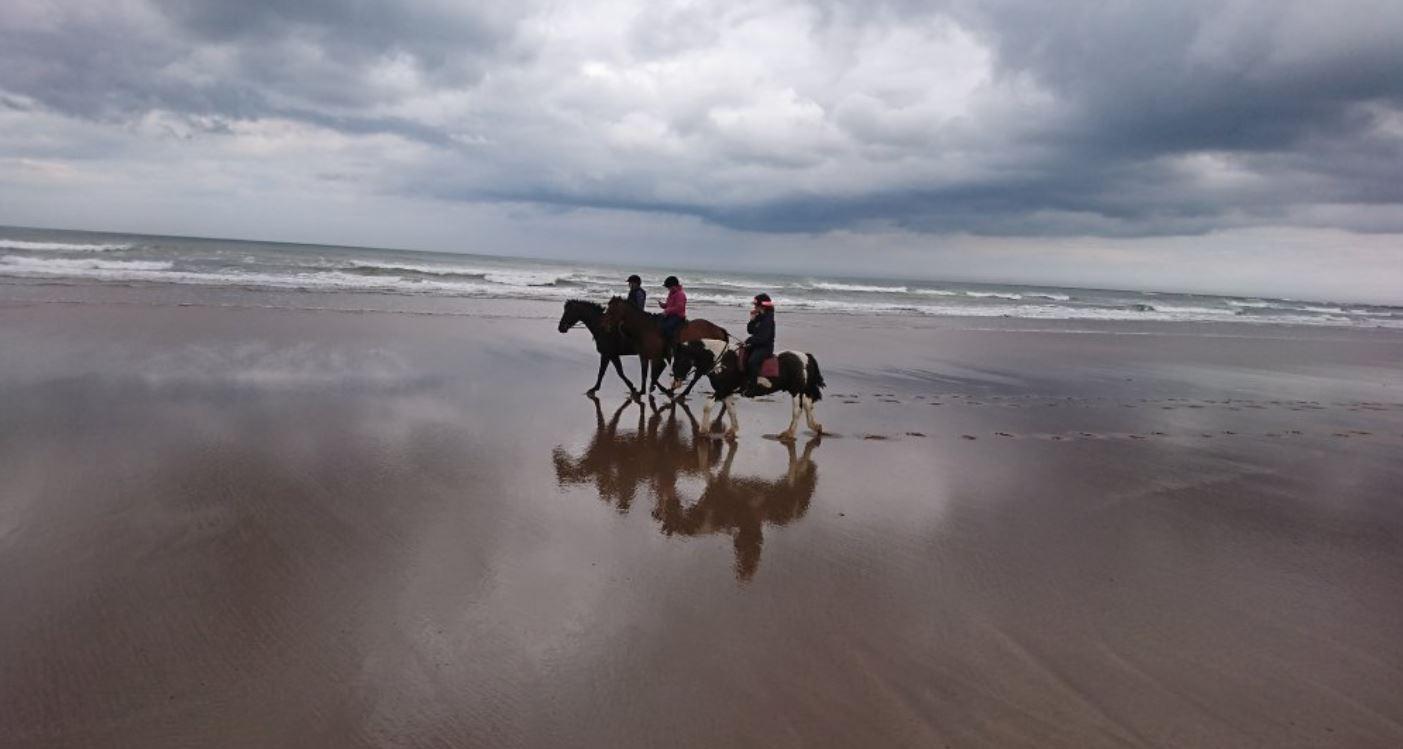 Horse-Riding-Destinations-UK-Northumberland