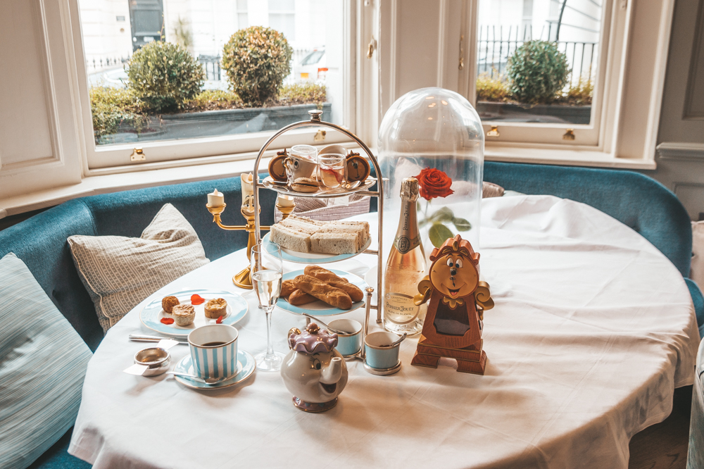 Tale as Old as Time: The Beauty and The Beast Afternoon Tea at Town House at The Kensington