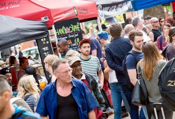 Tottenham Green Market – Tasty produce