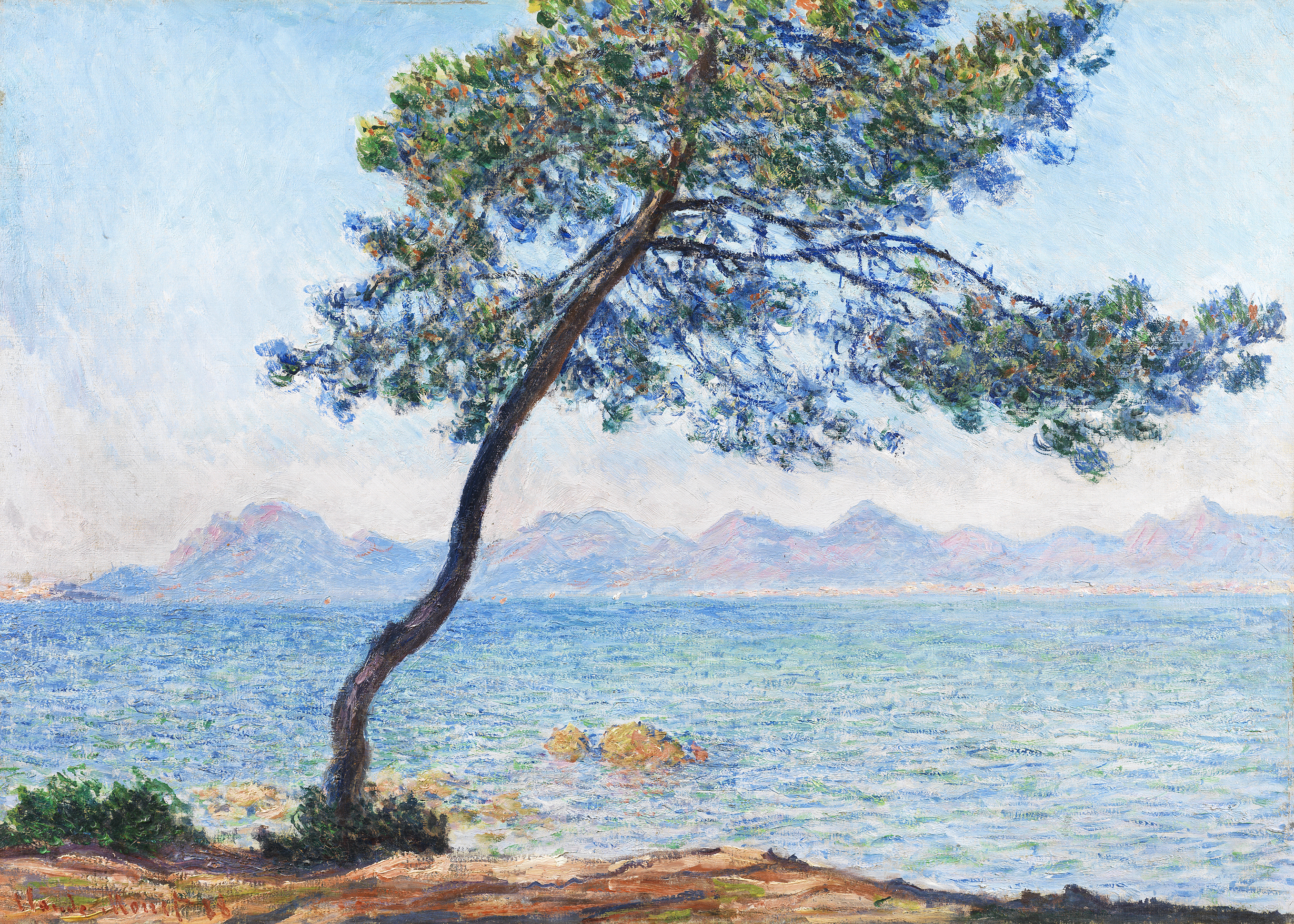 Antibes - Claude Monet, 1888