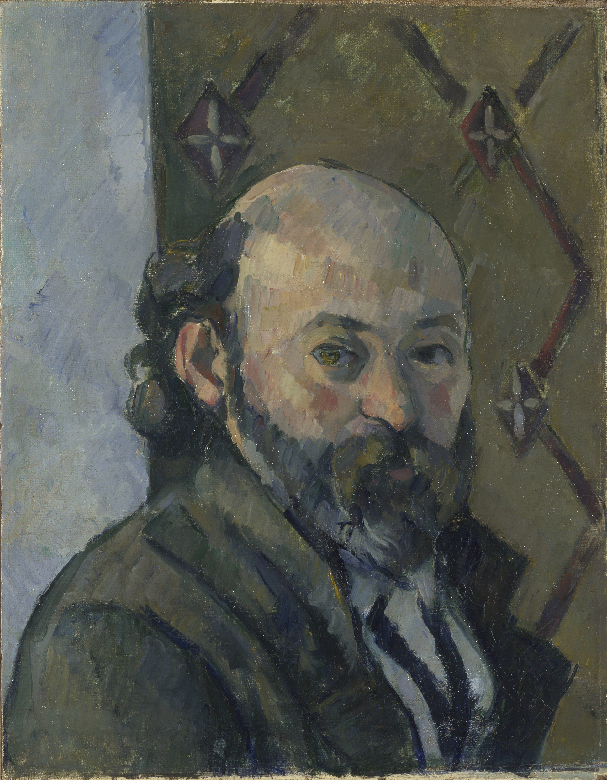 Self Portrait - Paul Cézanne, c. 1880-1.