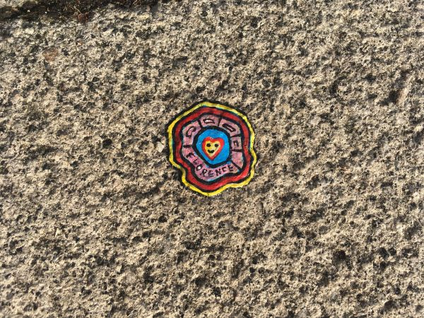 Chewing Gum Art – Pavement patterns