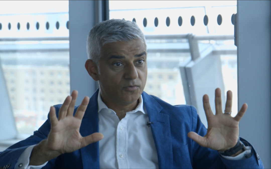 Watch: Sadiq Khan on whether recreational drugs should be legalised in London