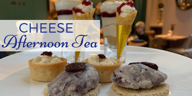 Cheese Afternoon Tea- The Georgian House London