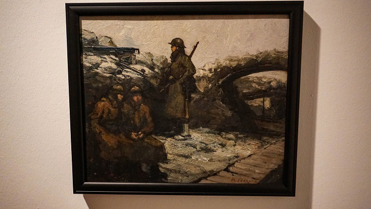 Brushes with War – Kelvingrove's Latest Exhibition