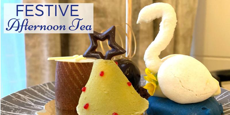 Festive Afternoon Tea in London- Intercontinental Park Lane