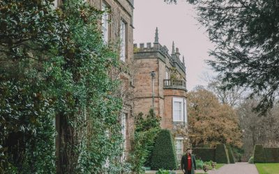 Finding Robin Hood's Bow And Safari Lodging In The Peak District, England