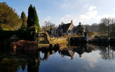 Scotney Castle with kids – a winter day out in Kent