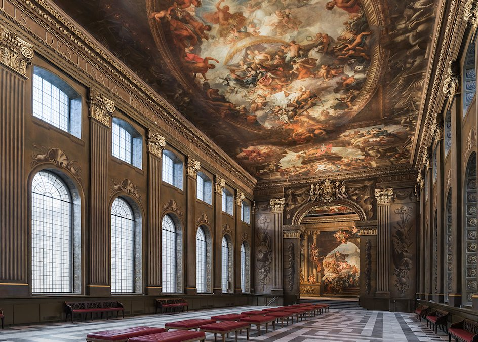 Laura's London: Take a First Look at the Beautiful Restored Painted Hall in Greenwich – Re-opening in March!