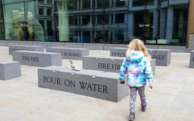 A Great Fire of London walk with kids – visit Great Fire of London locations