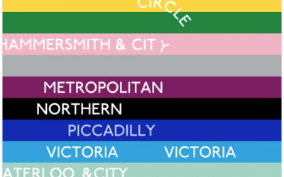 Check Out This Amazing Animated Visualization of London's Tube Lines