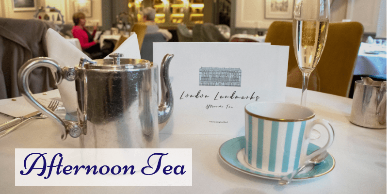 London Landmarks Afternoon Tea Review- Town House Kensington