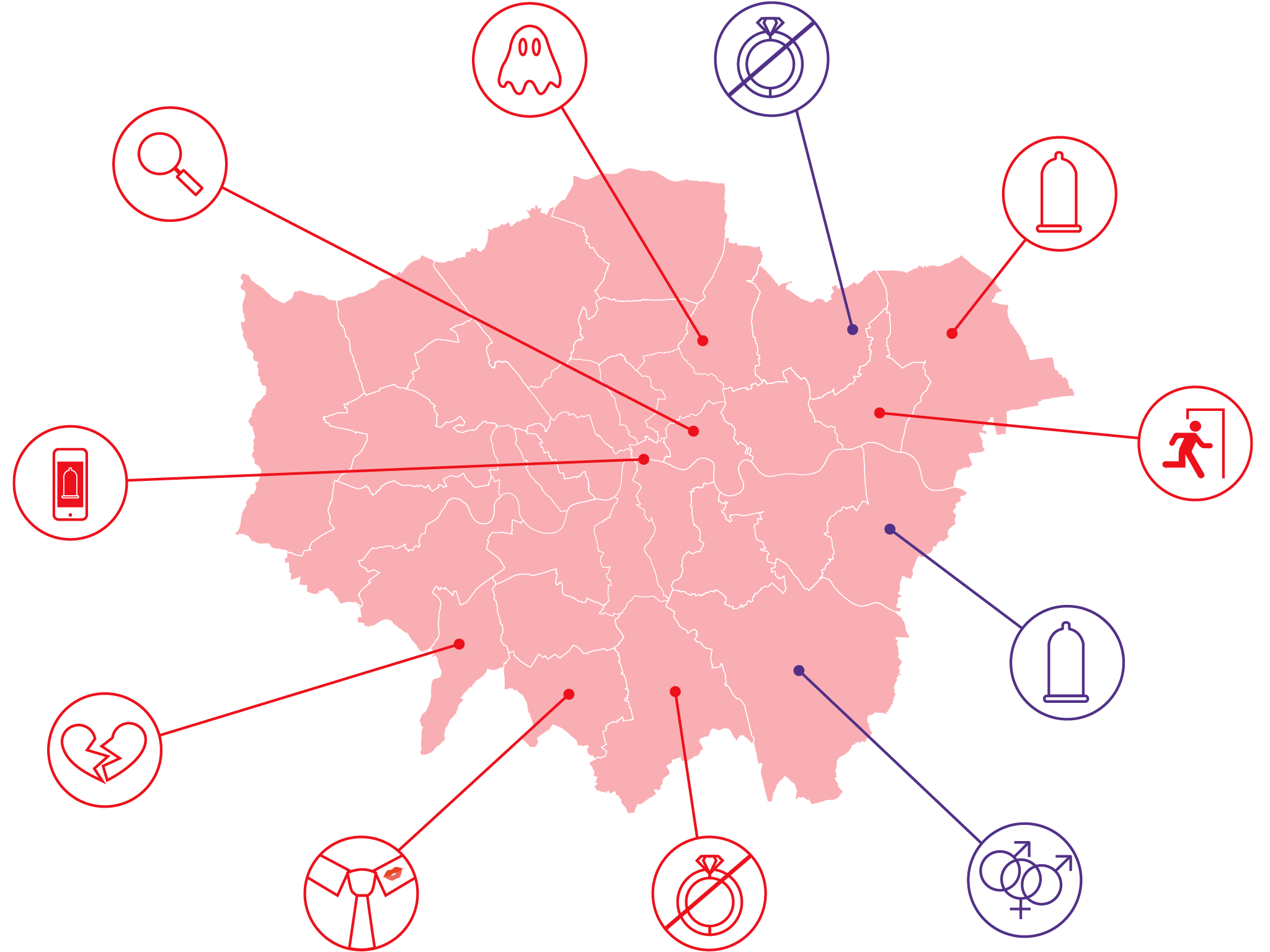 This map shows the naughtiest Londoners
