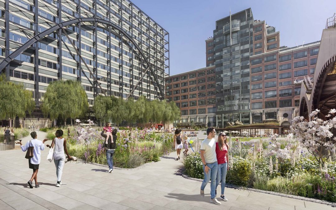 There's a brand new park opening in central London