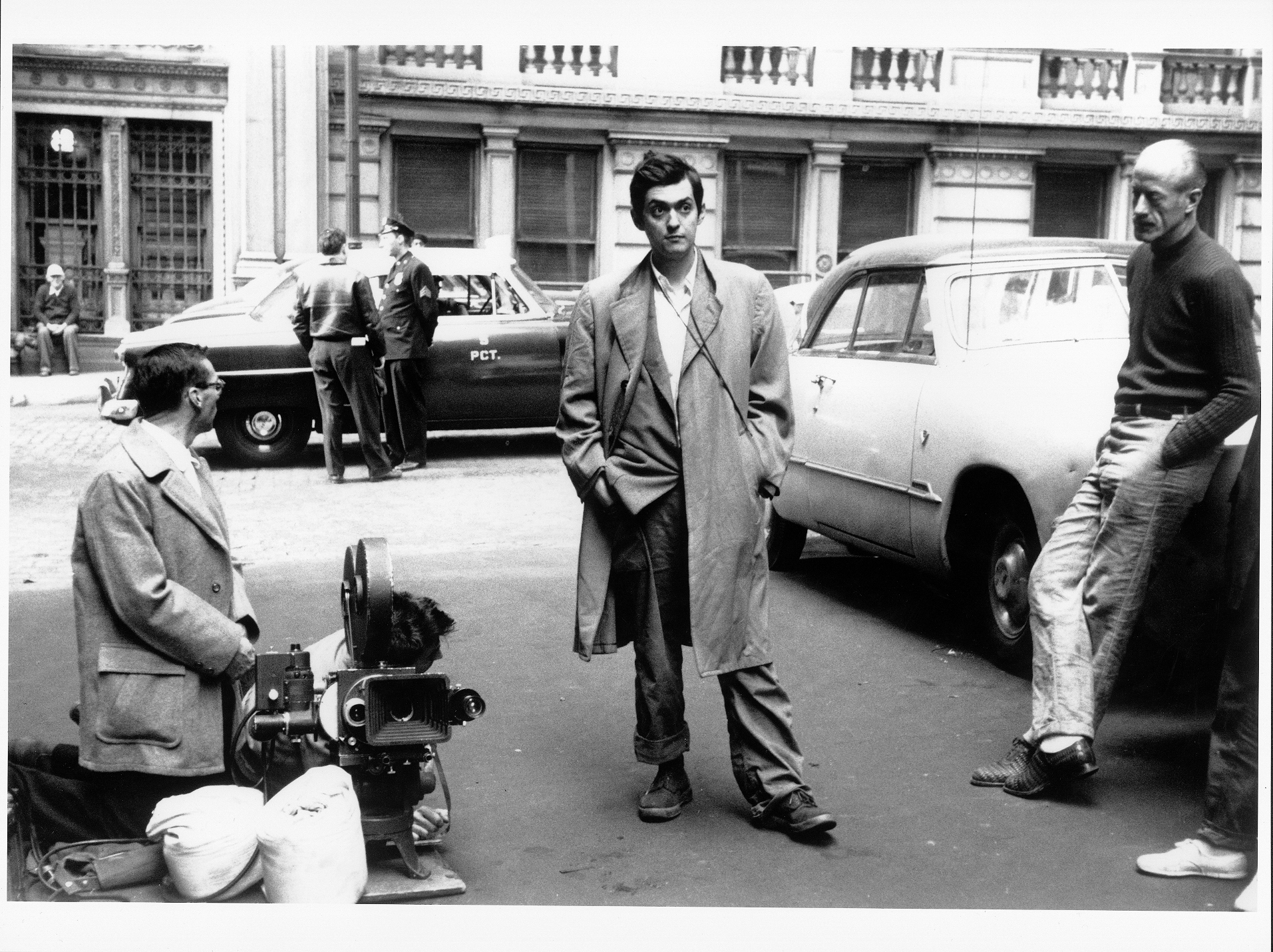 Stanley Kubrick during the filming of Killer's Kiss (The Tiger of New York, USA 1955). © Metro-Goldwyn-Mayer