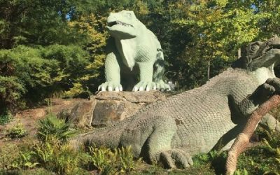 Crystal Palace Park – Open-air fun with dinosaurs!